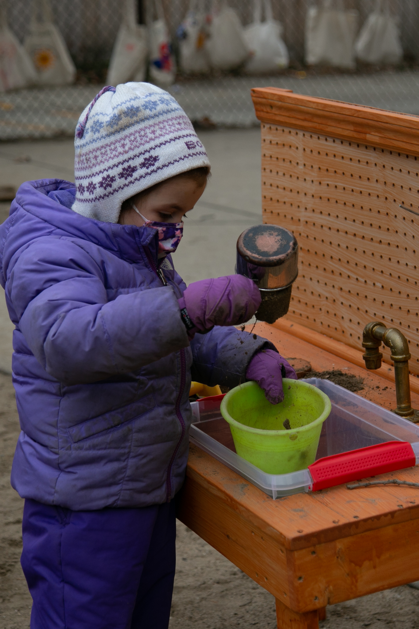 Outdoor play cooking